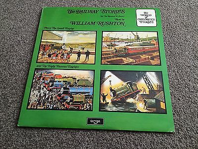 The Railway Stories Read By William Rushton 1979 Lp Percy The Small Engine
