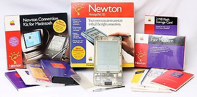 Apple Newton MessagePad 110 Clear Developer Version With Original Box + Invoice
