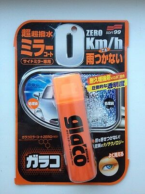 Soft99 Glaco Mirror Coat Zero Water Rain Repellent