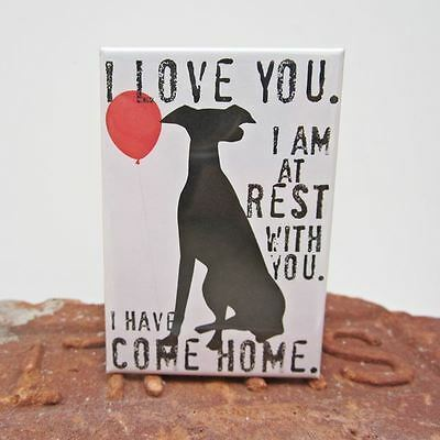 Greyhound Rest Art Magnet (GO012MAGGR) - Free Shipping