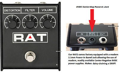 RAT2 DISTORTION NEW PROCO Rat2 Ships SAME DAY FREE PRIORITY to ALL US Zip Codes