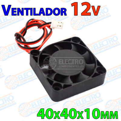 Ventilador 4010 12v Fan 40x40x10 impresora 3D cooler 40mm 10mm brushless