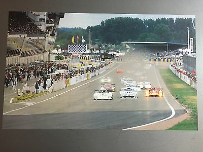 1998 24 Hours of Le Mans Poster Print Picture RARE!! Awesome L@@K