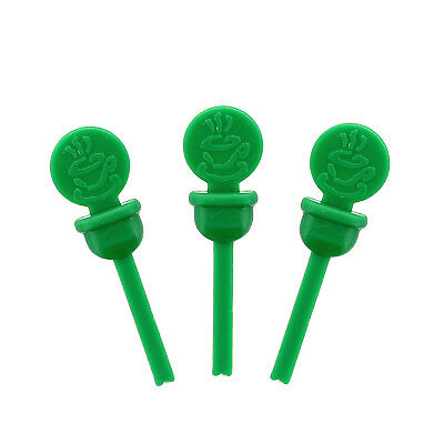 Stix-To-Go Green Circle Beverage Lid Plugs, Pack of 400, CPLUG