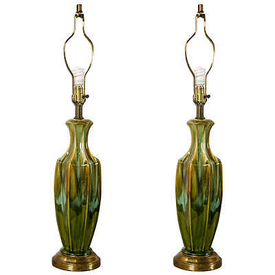 Pair of Art Deco Style Lamps, 1940s-1950s 101-5717