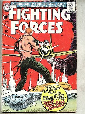 Our Fighting Forces #95-1965 gd+ Kubert 1st Devil-Dog