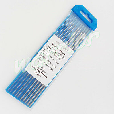 2% Lanthanated WL20 Tungsten Electrodes Rod 1.0-3.2mm Kit 175mm Length TIG Weld