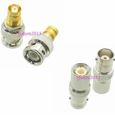 10pcs Adapter Connector BNC to 1.6/5.6 for Audio