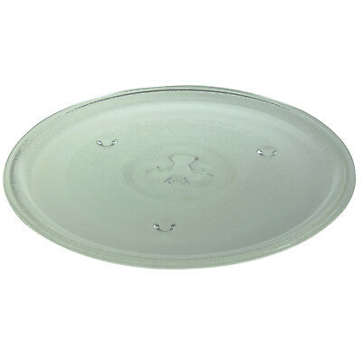 Universal 3 Lug Microwave Plate 270mm Glass Turntable for Russell Hobbs