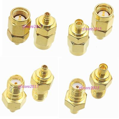 10pcs Adapter Connector SMA to MMCX straight for Wireless