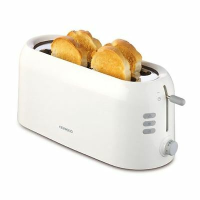 Kenwood TTP210 Variable Browning Control 4-Slice Bread Toaster New