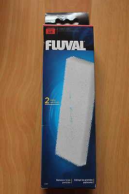 NEW Hagen Fluval U3 Filter Foam Pad 2 Pack • EUR 7,68