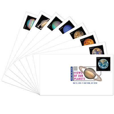 USPS New Views of Our Planets DCP set of 8
