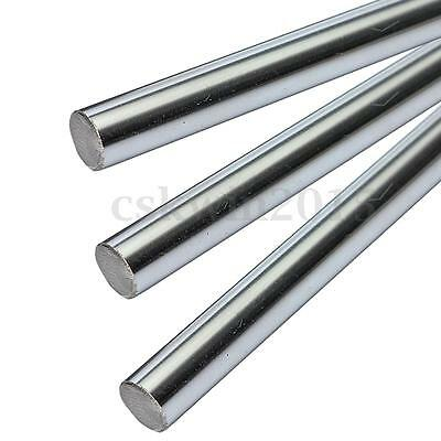 OD 8mm x 600mm Linear Optical Axis Steel Bearing Cylinder Rail Drive Shaft