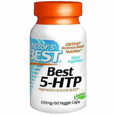 5-HTP (5-hydroxy L-tryptophan) 100mg x 60 capsules - Doctor's Best