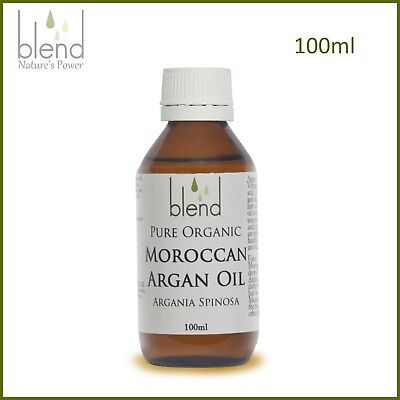 Argan Oil 100ml Moroccan Organic 100% Pure Unrefined Cold Pressed Premium
