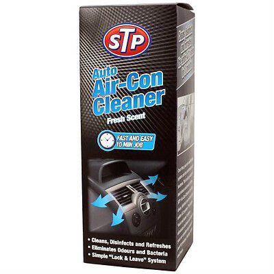 STP Car Air Con Cleaner AC Conditioning Clean Bomb Spray Kills Bacteria & Odours
