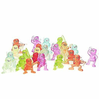 NEW | 24 Ninja Figures - Parties Favors - Cup Cake Toppers | FREE SHIPPING
