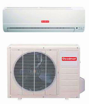 Goodman 12,000 Btu High-efficiency Mini-Split Heat Pump MS15 Mini-Split System
