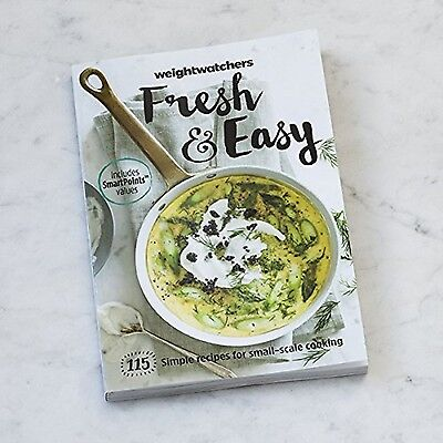 Weight Watchers Cookbook Fresh and Easy Smart Points NEW