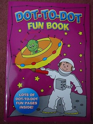 Large A4 Size Dot-To-Dot Fun Book - Brand New