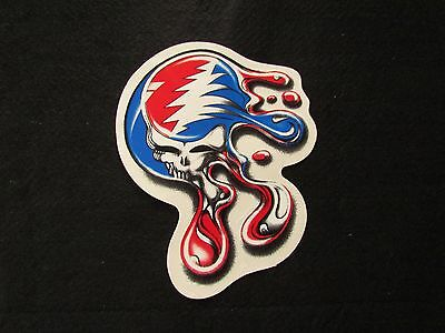"Grateful Dead Melt Your Face Steal Your Face 6x5"" Sticker Jerry Garcia Deadhead"