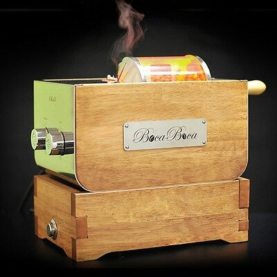 Professional Coffee Roaster & Bean Cooler Home Wooden Machine Maker