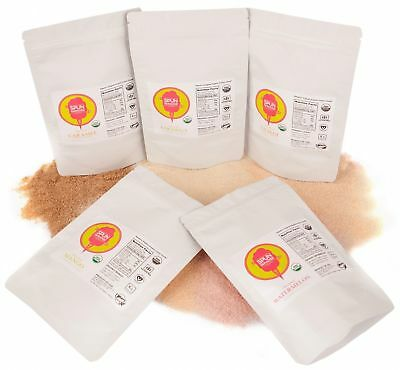 5 Flavor Organic Cotton Candy Floss Sugar Mixed Pack