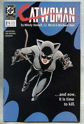Catwoman #3-1989 vf- 1st Catwoman series Batman