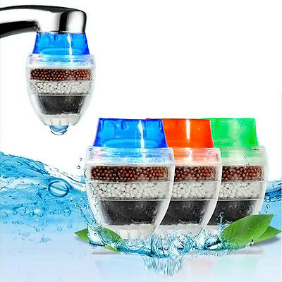 New Coconut Carbon Home Kitchen Faucet Tap Water Clean Purifier Filter Cartridge