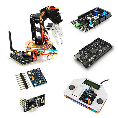 SainSmart  6-Axis Robot Arm Combo kit with Remote Control for Arduino MEGA2560