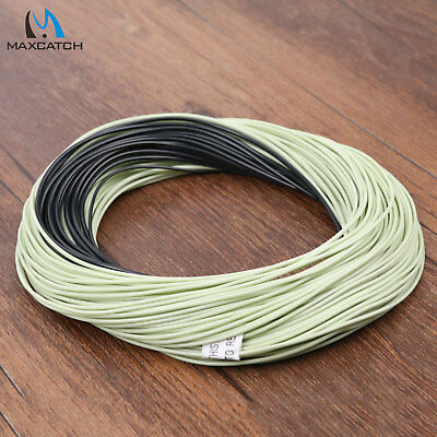 WF 4/5/6/7/8 100FT Moss Green Floating Fly Line & Sinking Tip Fly Fishing Line