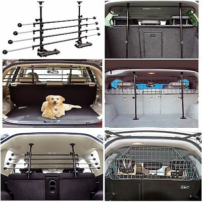 Universal Deluxe Adjustable Pet Dog Wire Mesh Headrest Safety Barrier Full Range