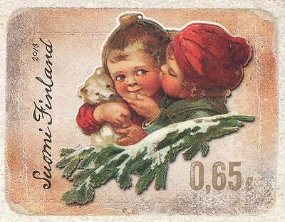 Finland 2013 MNH - Christmas - Vintage Design Glossy Picture - Issued Nov 4