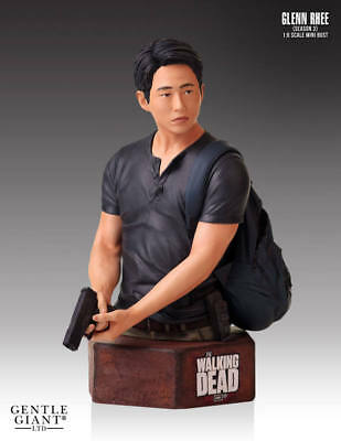 The Walking Dead Büste 1/6 Glenn Rhee 18 cm Zombie Figur