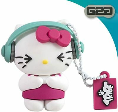 Hello Kitty HK DJ 8GB USB Pen Flash Drive Gifts For Her
