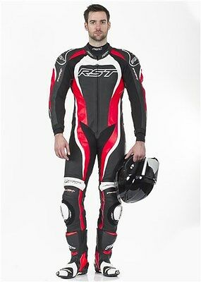 Rst 1415 Tractech Evo 2 One Piece Motorcycle Race Leathers Red In Stock