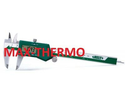 0-6//0-150 mm 0-6//0-150 mm INSIZE 1161-150A Electronic Tube Thickness Caliper