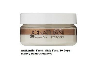 Jonathan DIRT TEXTURIZING PASTE 1.7 Oz. Brand New, Authentic, We Ship Fast