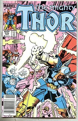 Thor #339-1984 vf Beta Ray Bill Walt Simonson