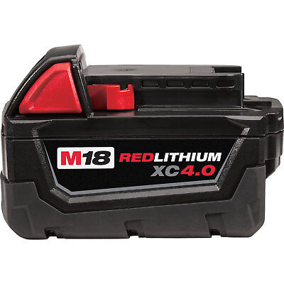 "M18 XC 4.0 Red Lithium Battery ""In Original pkg"" Milwaukee 48-11-1840 New"