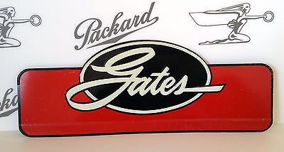 1950's Old Embossed GATES Auto Parts Sign