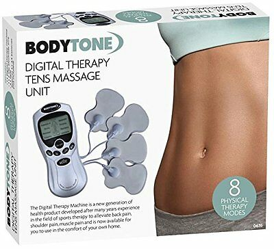 Tens Massager Machine Digital Therapy Full Body Pain Relief Acupunctur Back Neck
