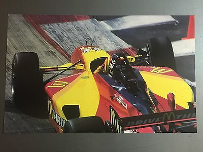 2000 Tony Kannan's McDonald's Racing Indy Car Print Picture Poster RARE! Awesome