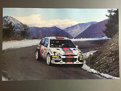 2002 Ford Focus Coupe Rally Race Car Print, Picture, Poster RARE!! Awesome L@@K