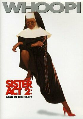 """""""Sister Act 2: Back in the Habit"""" Comedy Movie starring Whoopi Goldberg on DVD"""