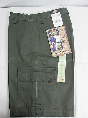 40214ROG Dickies Men's Cargo Shorts OLIVE 10'' All Sizes NWT