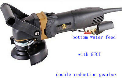 900W Wet Stone Polisher with double reduction gearbox