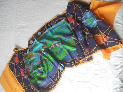 Pure Silk Long Scarf Hand-Screen Printed Waterlilies Darumbal Of The Dreamtime