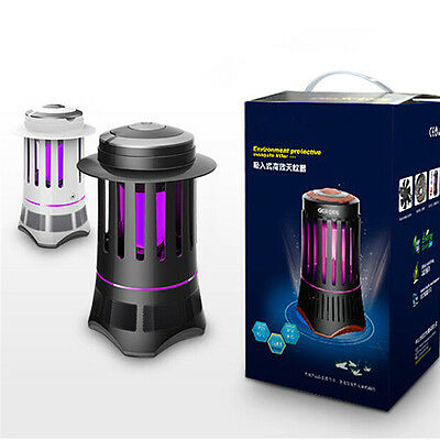 Noiseless LED Electronic Mosquito Control Lamp Bug Fly Insect Zapper Killer New